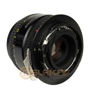 Image 4 - 니콘 g AF S ai f 렌즈 및 캐논 eos ef 마운트 어댑터 650d 600d 550d 1100d 60d 7d 5d 용 렌즈 어댑터 링