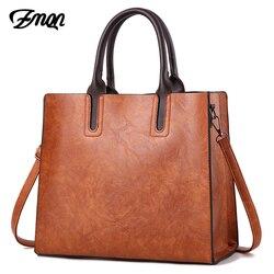 ZMQN люксовых брендов сумки женские кожаные сумки большой емкости Ретро Винтаж ручной Топ-Ручка Сумки Твердые Сумка мешок плеча c901