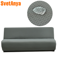 Svetanya Waterproof Slipcover for Sofa Bed Tight Wrap Elastic Sofa Towel Couch Case Without Armrest Fold sofa