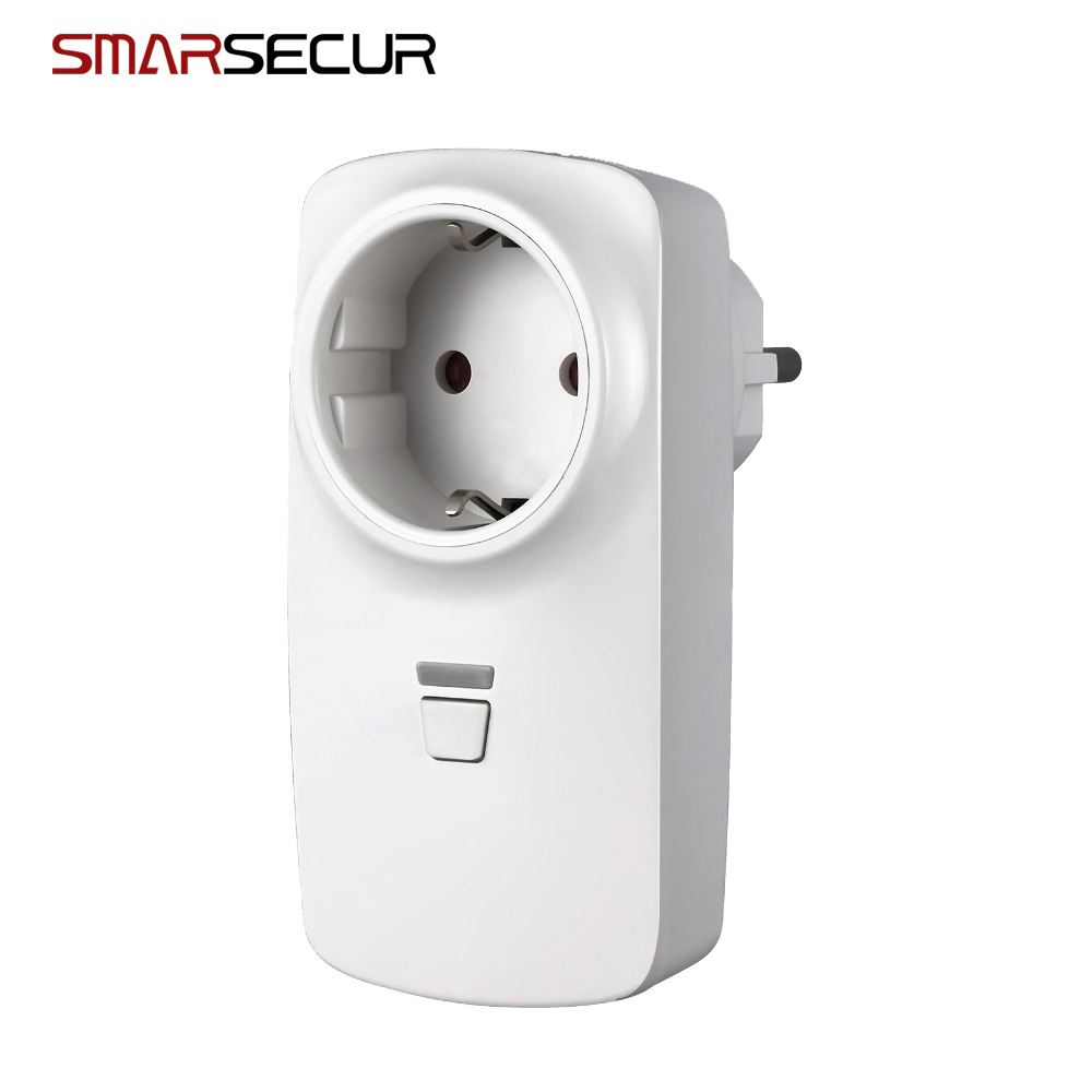 Smart Power Plug EU Socket Smart Home Automation Alarm for H6 alarm systemSmart Power Plug EU Socket Smart Home Automation Alarm for H6 alarm system