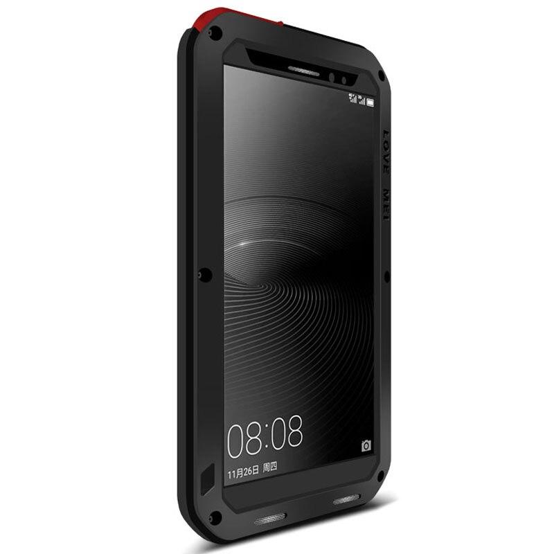 Pour Huawei Mate 8 étui de protection hybride blindé boîtier étanche Fundas boîtier étanche à l'eau/saleté/choc/pluie pour Huawei Mate 9 - 3