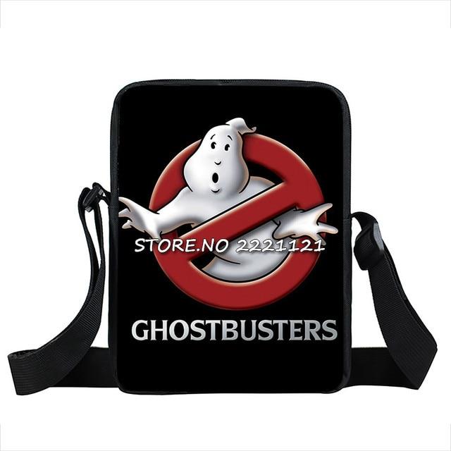 Comedy Ghostbusters Crossbody Bags for Boys Shoulder Bag Young Men Women  Mini Messenger Bags Cartoon Children Kids School Bags