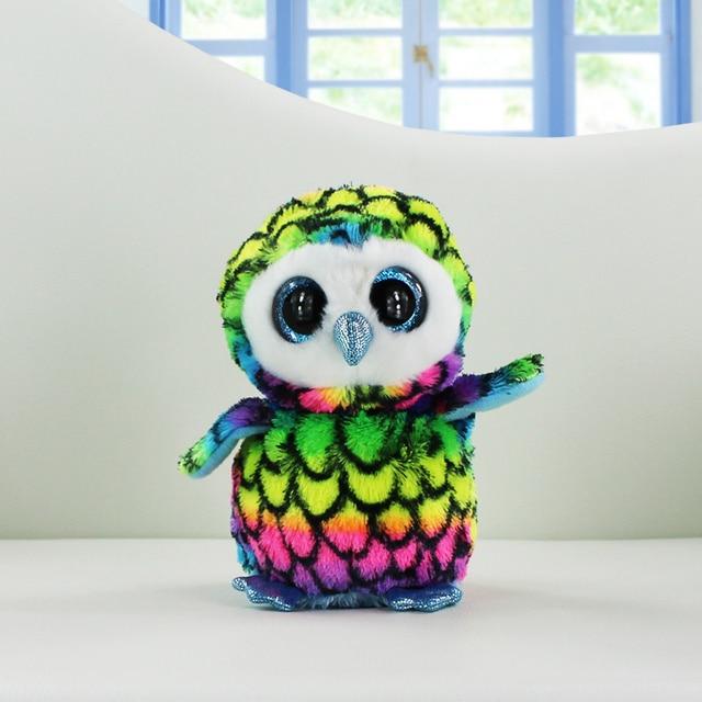 Ty Beanie Boos Plush Toys Beanie Babies Camouflage Owl