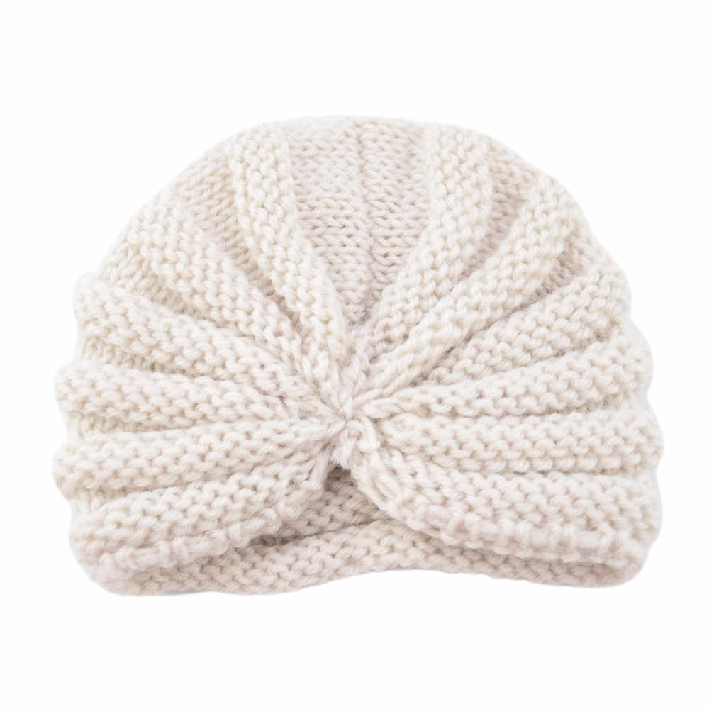 26565d944cd ... TELOTUNY Baby hat Toddler Girls Boys winter knitted warm hat turbna  Infant Warm Winter Knit Beanie ...