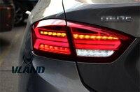 Vland фабрики для Cruze Фонарь 2017 Led A5 стиль сигнал поворота движущегося света фонаря с DRL + обратный + тормоза Plug and play