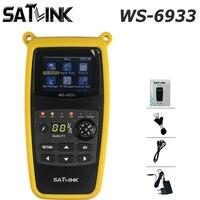 DVB S2 Satlink WS 6933 Satellite Finder FTA C&KU Band Satlink WS 6933 Digital Satellite Meter Finder free shipping