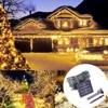 YWXLight חדש שנה נטיף קרח LED וילון מחרוזת פיית אור Kerst Verlichting פיית אורות חג מולד אורות מחרוזת אורות גרלנד|מחרוזות תאורה|פנסים ותאורה -