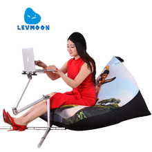 LEVMOON Beanbag Sofa Chair Shell Shrek Seat Zac Comfort Bean Bag Bed Cover Without Filler Cotton Indoor Beanbag Lounge Chair