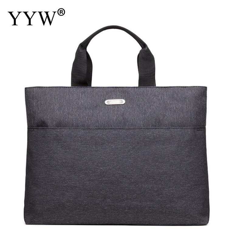 YYW Large Capacity Laptop Oxford Handbag For Men Women Travel Briefcase Bussiness Notebook Bag For 14 Inch Macbook Pro Dell Pc