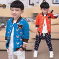 children's clothing 2017 autumn sweatshirt boys girls child V-neck bear print long-sleeve outerwear cardigan