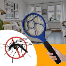 Mosquito Killer Electric Tennis Bat Handheld Racket Insect Fly Bug Wasp Swatter #0501(China)