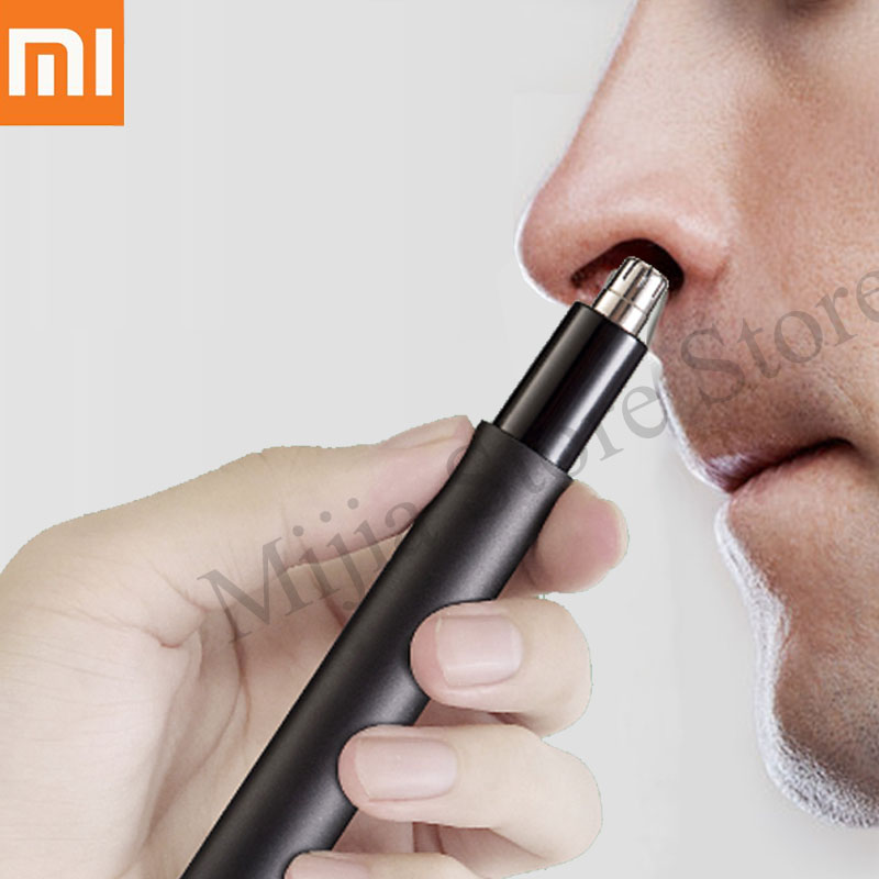 Xiaomi mijia Electric Mini Nose hair trimmer HN1 Portable Ear Nose Hair Shaver Clipper Waterproof Safe Cleaner Tool for Men H30(China)