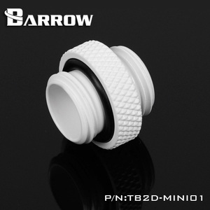 Мини-фитинг типа «Барроу» TB2D-MINI01 «Папа-папа» G1/4 ''черный, серебристый, белый, золотой адаптер для подключения