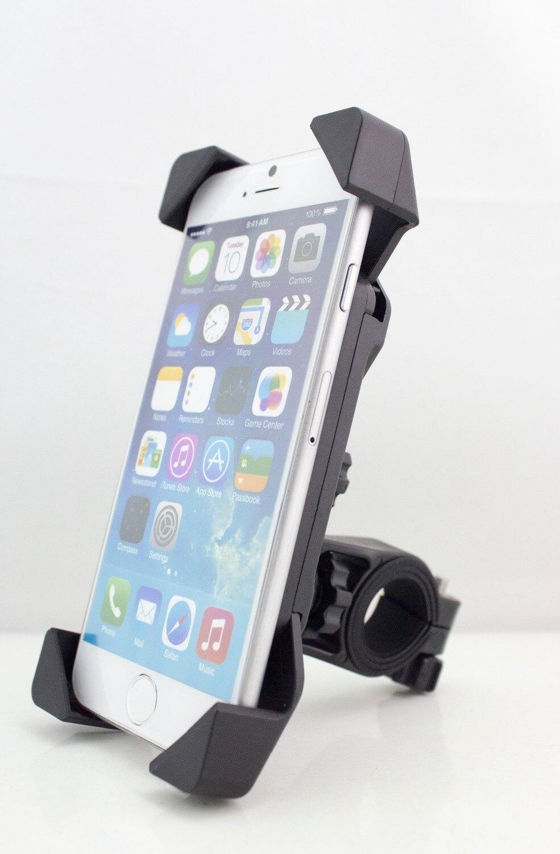 Цена за Новейший Универсальный Велосипед Мотоциклов Мобильного Телефона Держатель Поддержки Крепление Подходит для 3.5 дюймов до 7.0 дюймов Смарт-Телефон