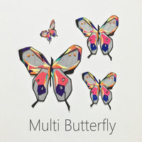 1set Organza Embroidered Butterfly Series Patch Iron On Or Sew For Clothes Embroidered Appliques DIY Accessory