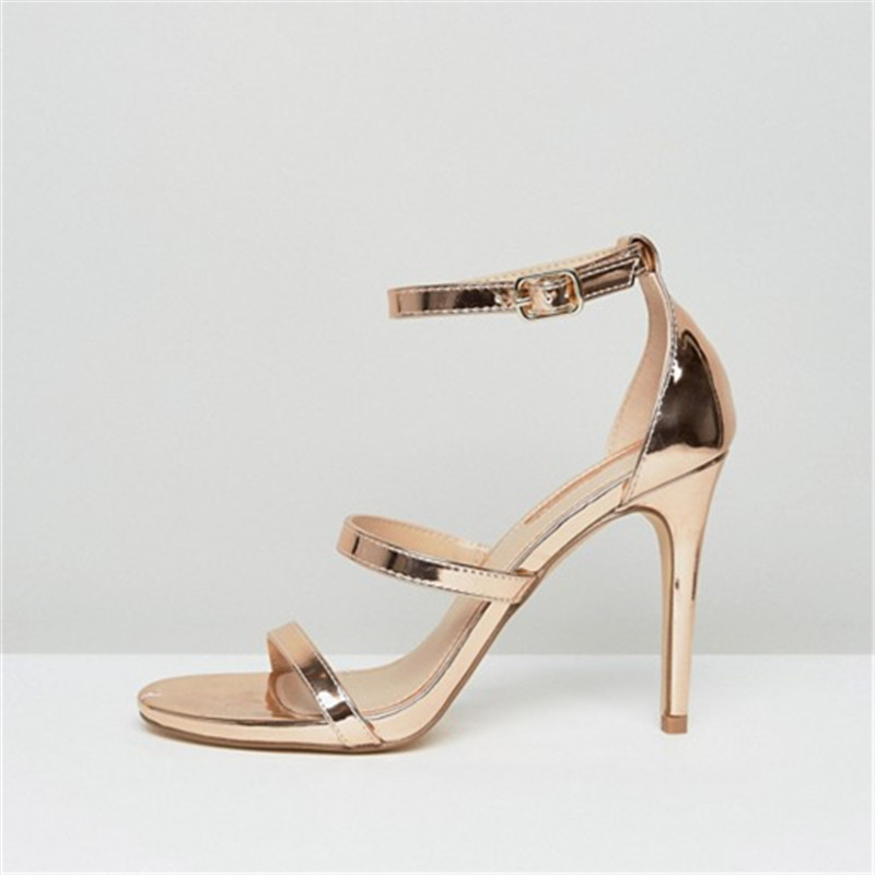Aidocrystal Fashion Women Party Sandals 2017 Summer Brand Elegant High Heels Sandalias Mujer Women's Dress Shoes Sandal hot women party sandals 2016 summer brand elegant high heels sandalias women s dress shoes sandal sjl342