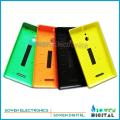 new Back battery cover housing with side button sets for Nokia XL RM-1030 RM-1042,black white,yellow,orange,blue,green