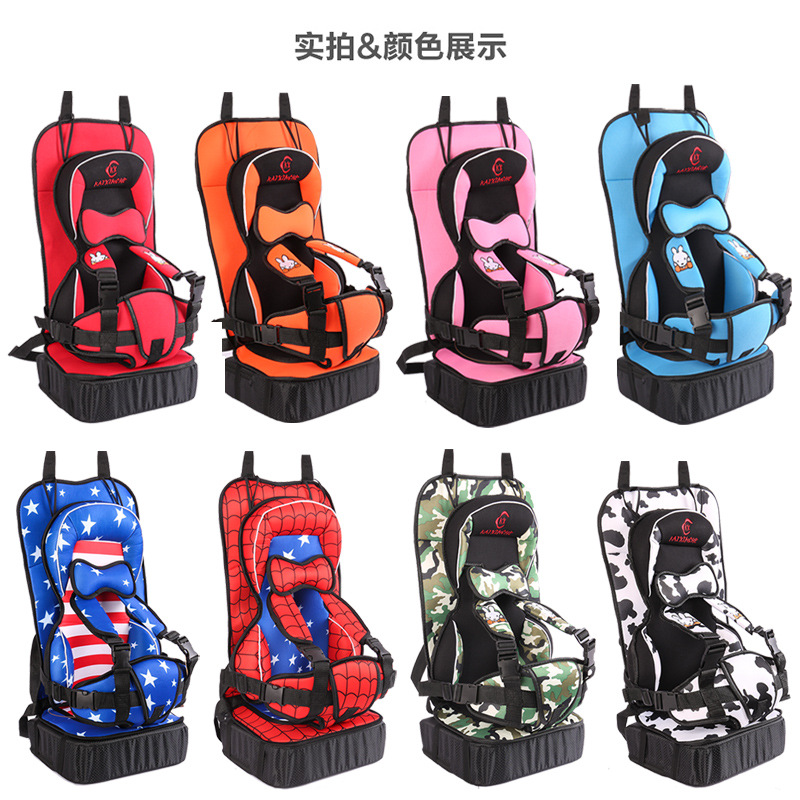 New Heighten Baby Car Child Safety Seat 1-12 Years Old Kids Protection Portable Child Safety Car Seat Baby Sitting Chair In Car