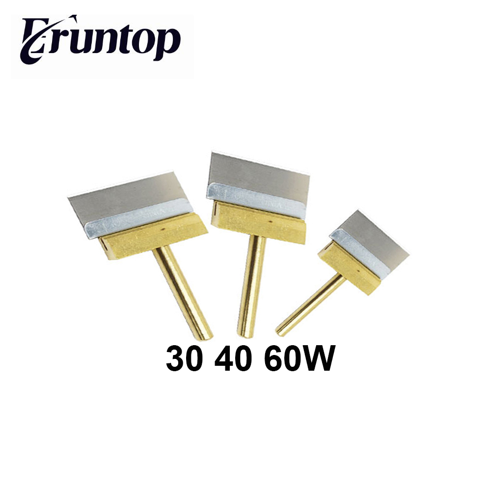 1PCS 30W 40W 60W Copper Soldering Iron Tip With 1 Pcs Blade  For LCD Screen Local Glue Removing
