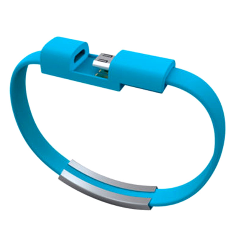 Aliexpress.com : Buy 22CM V8 Micro USB Cable Silicone Wrist ...