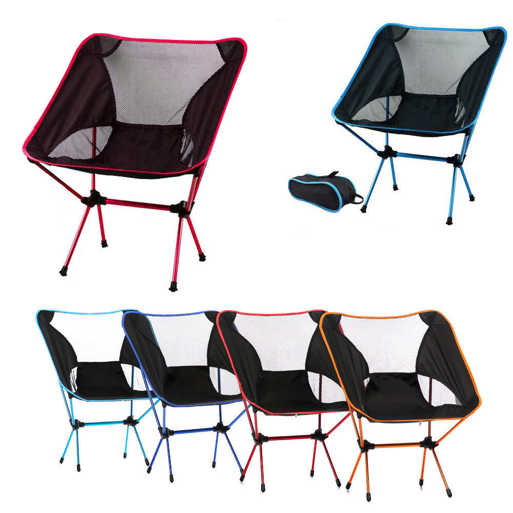 Folding Extended Hiking Seat Portable Collapsible Moon Chair Fishing Camping BBQ Stool Garden Ultralight Office Home Furniture