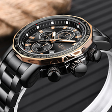 цены 2019 Relogio Masculino New LIGE Fashion Mens Watches Luxury Brand Business Quartz Watch Men Sports Waterproof Big Dial Men Watch