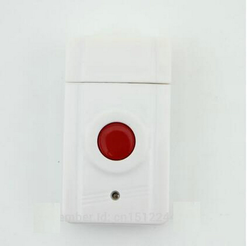 Free shipping Wireless Emergency Panic Button For Our Alarm System 433MHz One Key Alert free shipping dc12v 433mhz metal