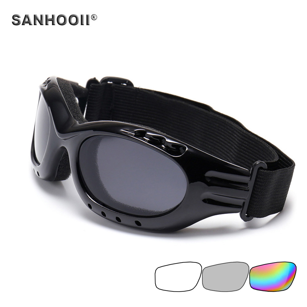 New Snowboard Dustproof Sunglasses Motorcycle Ski Goggles Lens Frame Glasses Outdoor Sports Windproof Eyewear Glasses two tone frame flat lens sunglasses