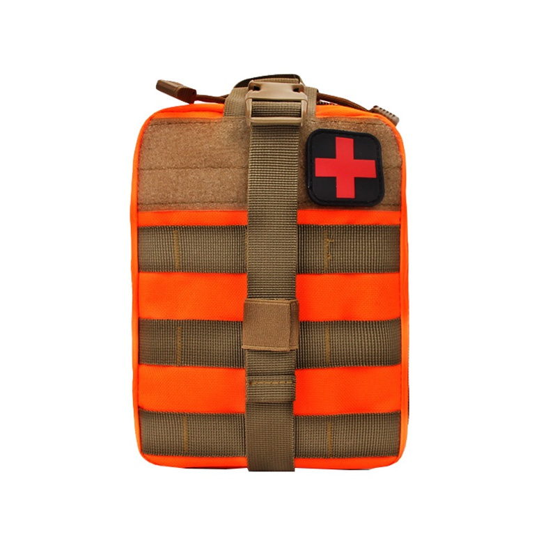 Outdoor First Aid Kit Patch Bag Utility Tactical Pouch Medical  Molle Medical Cover Hunting Emergency Survival Package 2019