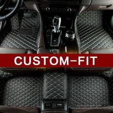 Пользовательские Автомобильные коврики для Toyota Camry Corolla RAV4 Mark X Корона Verso Cruiser автомобиль для укладки кожа Анти скольжения ковер вкладыши