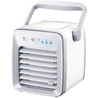 Hot TOD Personal Space Air Conditioner, 4 In 1 Mini Usb Personal Space Air Cooler, Humidifier, Purifier, Desktop Cooling Fan W
