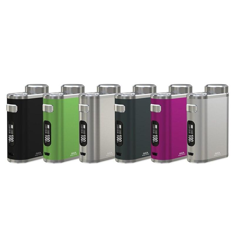 Original Eleaf iStick Pico 21700 100 W boîte Mod Vape avec 21700 Support de batterie ELLO réservoir RDA RTA RDTA Cigarettes électroniques Mod