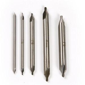 1 шт. 1 мм/2 мм/3 мм * 100 мм HSS А-типа Удлиненные сверла с двойным концом 60 градусов набор столешниц сверло