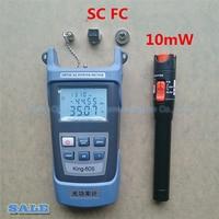 2 In1 FTTH Fiber Optic Tool Kit Fiber Optical Power Meter 70 10dBm And 10km 10mW