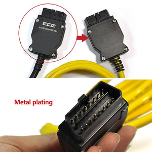 Image 3 - Ethernet To OBD For BMW F Series ENET Cable E SYS ICOM 2 Coding NET OBD Connector Network Cabl Without CD