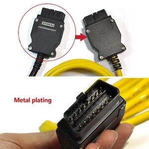Image 3 - Ethernet do OBD dla BMW serii F kabel ENET E SYS ICOM 2 kodowanie netto złącze OBD kabel sieciowy bez CD