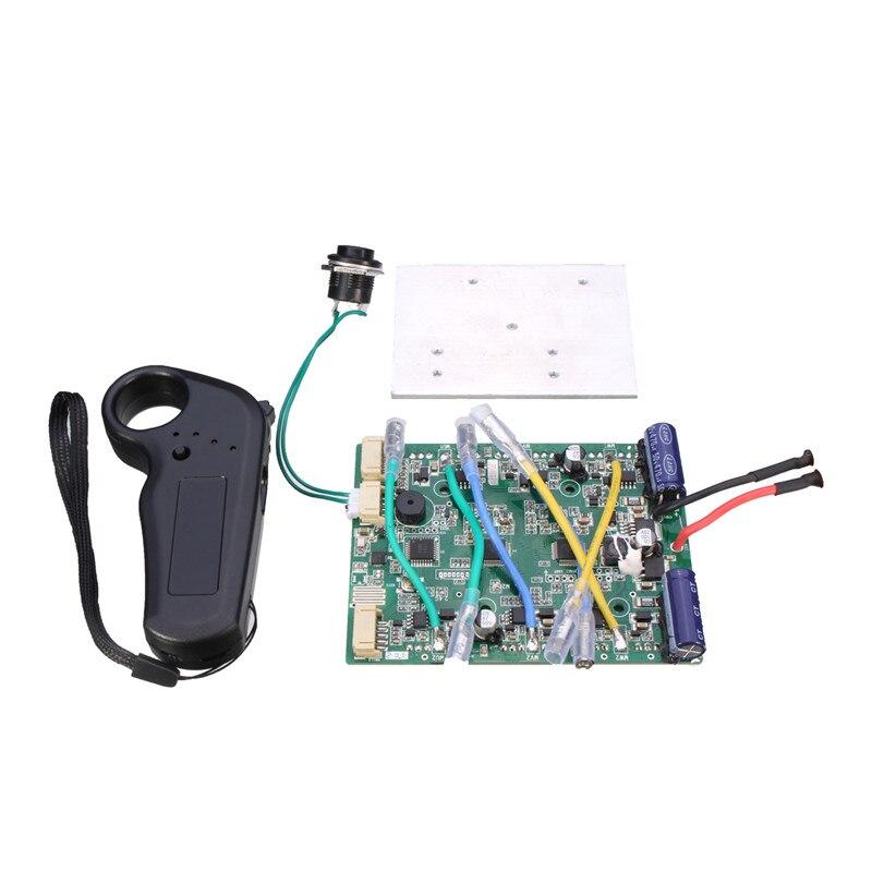 Contrôleur Longbaord de planche à roulettes électrique à quatre roues à deux moteurs avec télécommande de remplacement ESC pour modèles de jouets RC