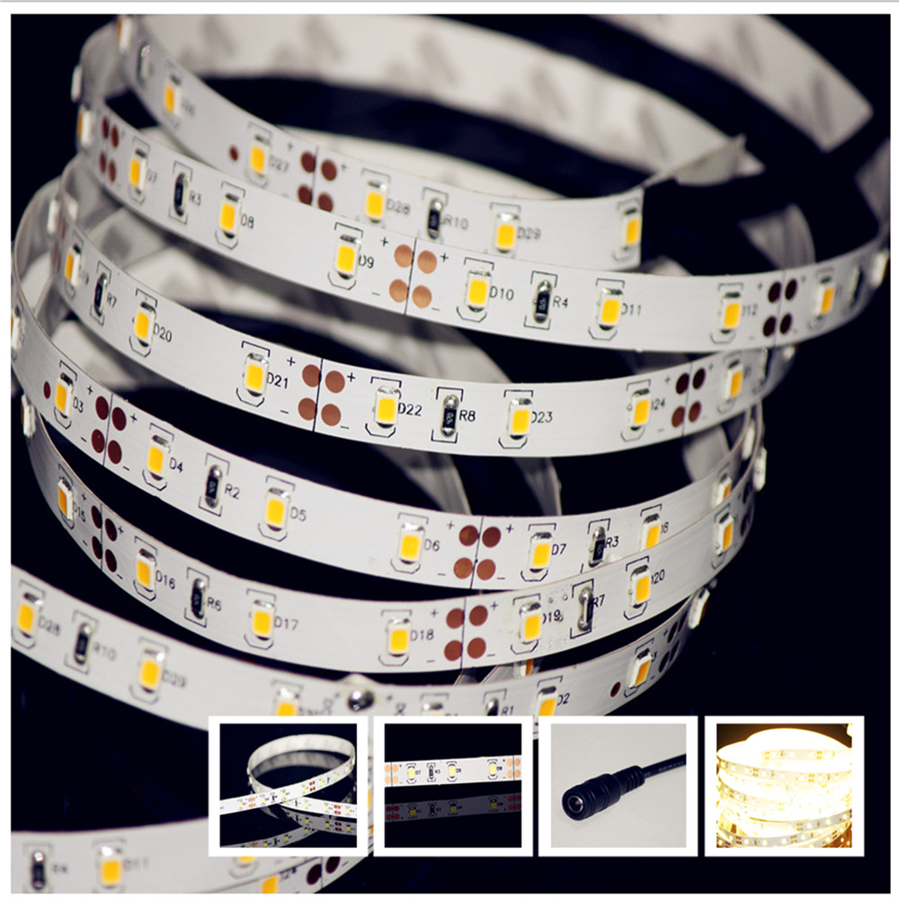 Led Lichtleisten Us 16 99 12v 60led M 2835 Smd Strip Super Bright Twice Lumen Than 5050 Lichtleiste Barra Led Tiras De Led 24 26 Lumens Led 1560lm M In Led Strips