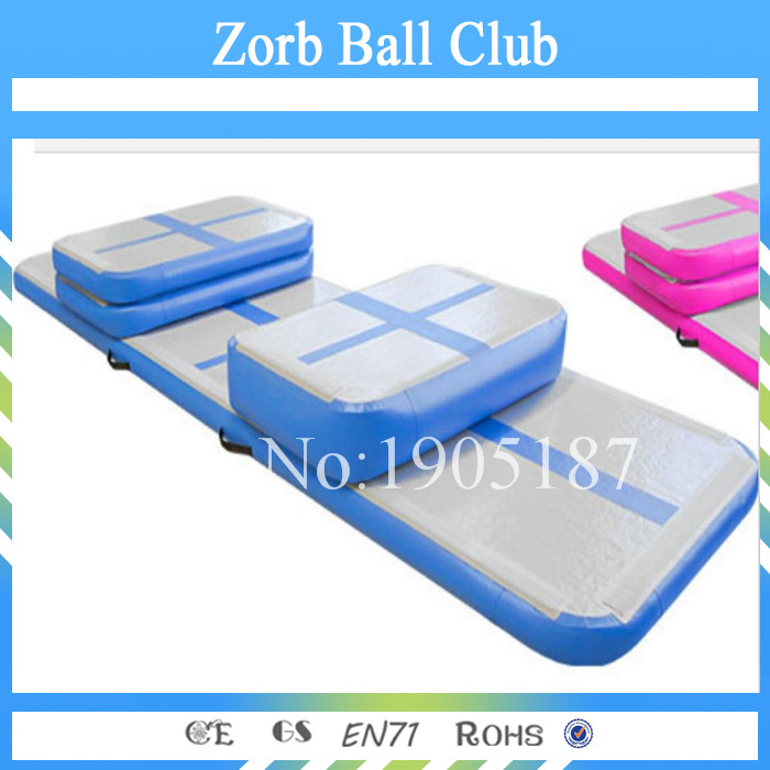 Free Shipping 4x1x0 2m Por Inflatable Gymnastics Mat Gym Air Track