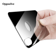 Oppselve 0.3mm Back Screen Protector Tempered Glass For iPhone X 10 9H Rear Reverse Protective Toughened Film