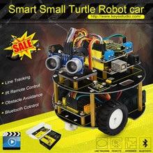 Keyestudio умный маленький Черепаха робот car/салона автомобиля для aduino робот Стартер + руководство + PDF + Установка видео + Демо видео + 7 проектов