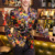 2016 Otoño Hombres de La Moda de Dibujos Animados Impreso Blazer Casual Diseñador Partido Marca Terno masculino vT0097
