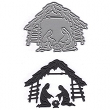 Birth Of Baby Jesus  Metal Cutting Dies Stencil For DIY Scrapbooking Decorative Embossing Suit Paper Cards Die Template