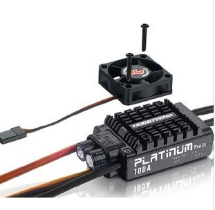 Hobbywing Platinum V3 100A Built in BEC Speed Controller 2-6S Lipo Brushless ESC for RC Drone Helicopter Aircraft  Quad F17833 hobbywing platinum series v4 160a brushless electric speed controller esc for aircrafts high voltage esc
