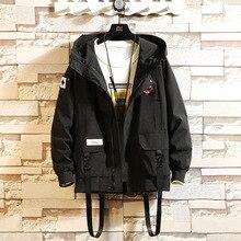 2019 Autumn New Men Leisure Fashion Camouflage Hooded Jacket Unlined U