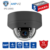 IP Camera POE H.265 Compatiable Hikvison 5MP IP POE Camera Indoor & Outdoor Security Cam use Wall bracket for DS 1258 ZJ
