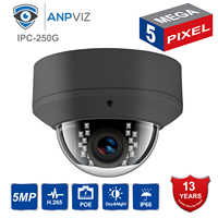 IP Camera POE H.265 Compatiable Hikvison 5MP IP POE Camera Indoor & Outdoor Security Cam use Wall bracket for DS-1258-ZJ