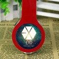 Kpop exo headband jogo fones de ouvido fones de ouvido com cancelamento de ruído estéreo de 3.5mm com fio fone de ouvido para iphone samsung xiaomi mp3 player ps4