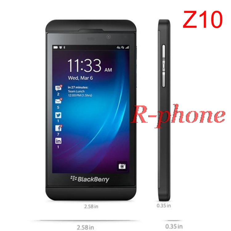 Refurbished Original Unlocked Blackberry Z10 Dual core GPS WiFi 8MP 4.2 16GB ROM cell Phone