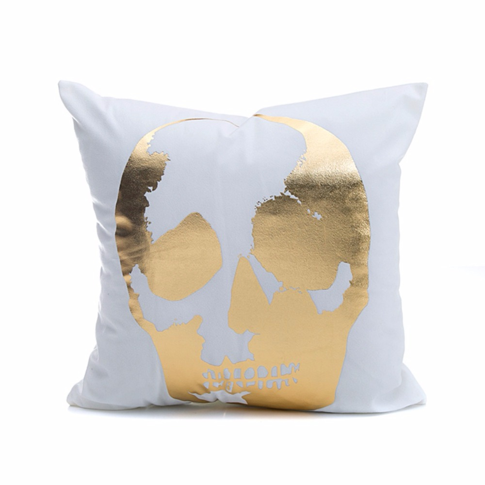 Super Soft Pineapple Love Letters Bronzing Silver Pillows 2